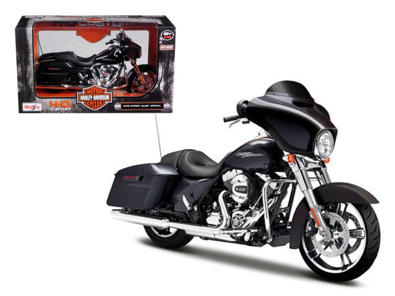 2015 Harley Davidson Street Glide Black 1 12 Motorcycle Model by Maisto by Maisto