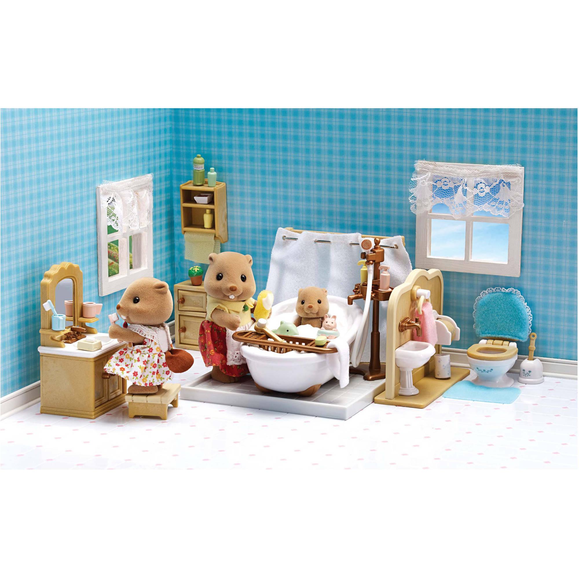 Calico Critters Deluxe Bathroom Set - Walmart.com