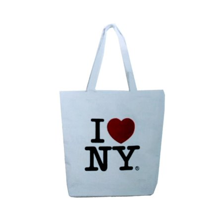 Nyc Factory I Love Ny Shoulder Bag White Gift Event - Halloween Events For Kids In Nyc