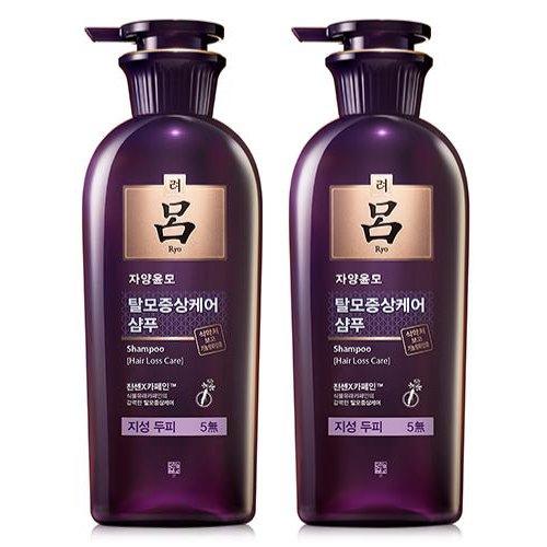 Ryo Jayang Yoon Mo Anti Hair Loss Shampoo For Oily Scalp 400 Ml 2 Pack Walmart Com Walmart Com
