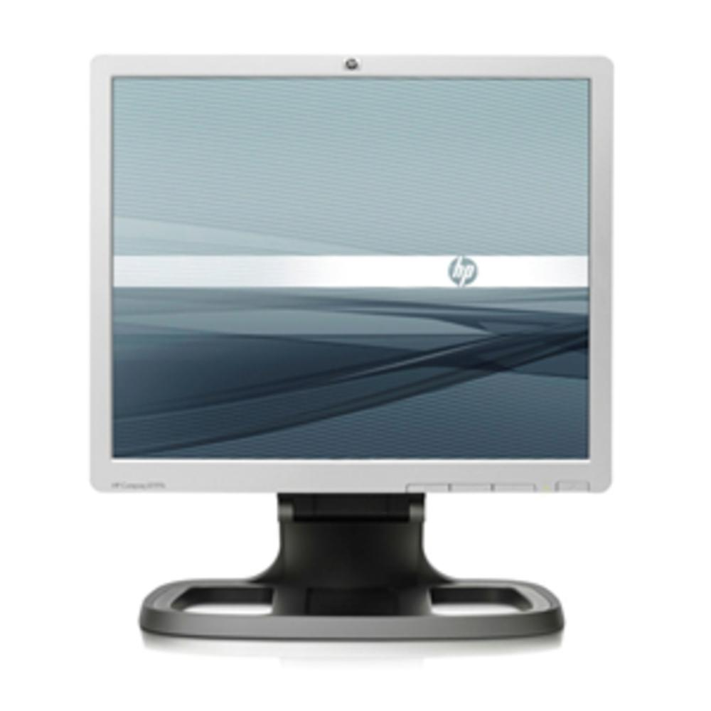 19 HP Compaq LE1911 LCD Monitor 1280x1024 VGA Black Silver EM887AA#ABA TFT Active Matrix LCD Display