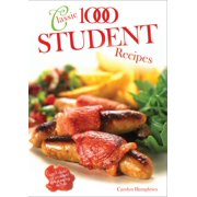 Classic 1000 Student Recipes - eBook