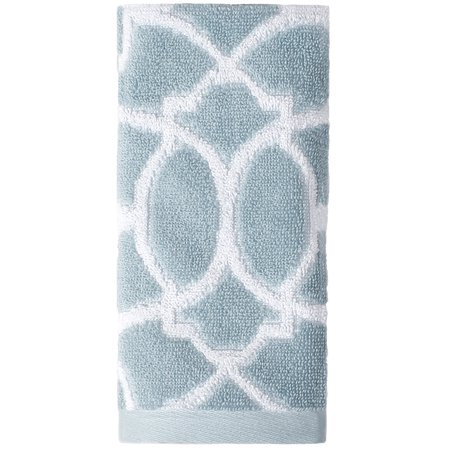 - Saturday Knight Ltd Watercolor Lattice High Quality Easily Fit & Ultra-Durable Everyday Use Tip Towel 11x18