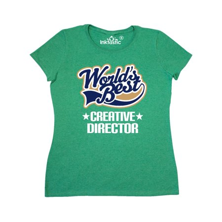 World's Best Creative Director Women's T-Shirt - Creative Halloween Customs