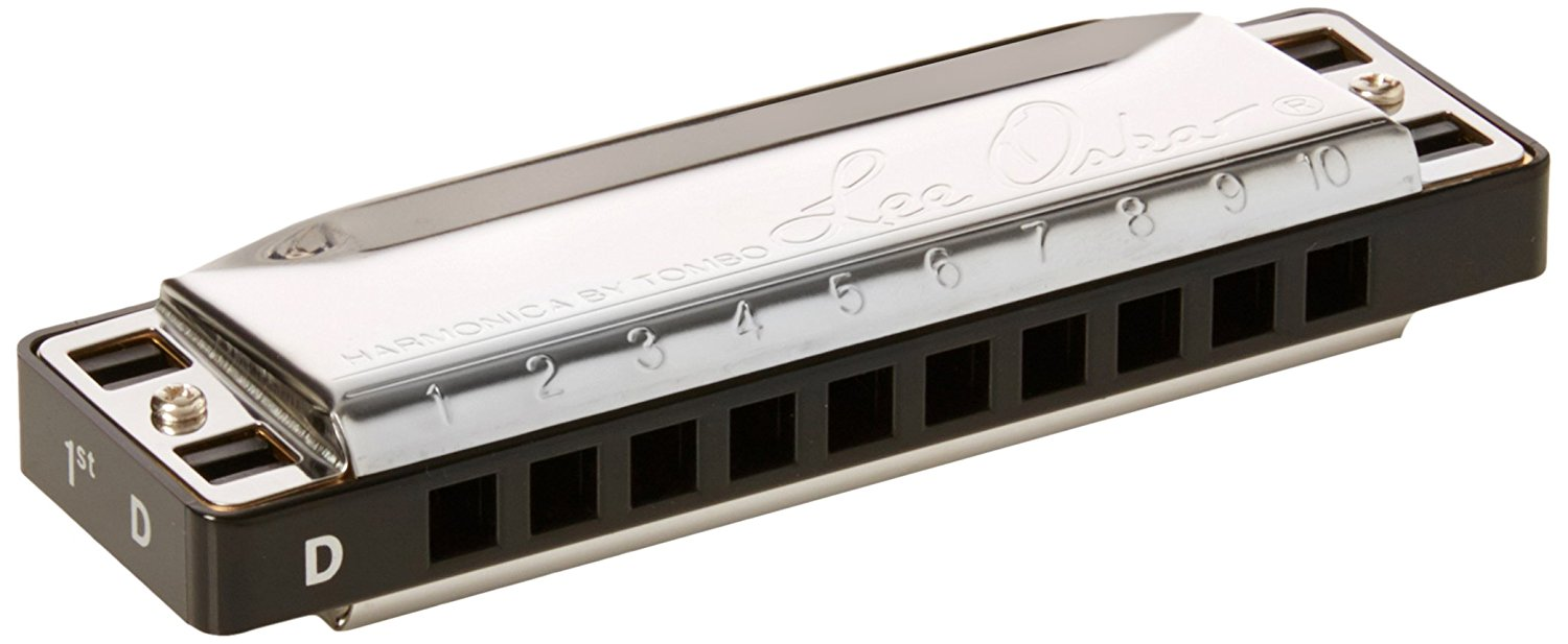 Lee Oskar Harmonica, Major Key of D, Major Diatonic By Lee Oskar Harmonicas by