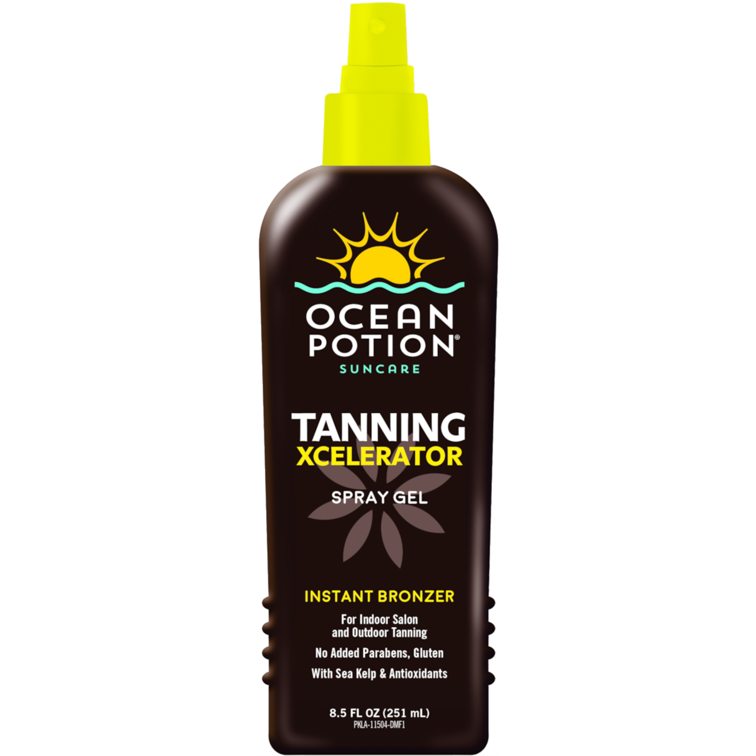 Ocean Potion Xcelerator Xtreme Tanning Spray Gel, 8.5 fl oz
