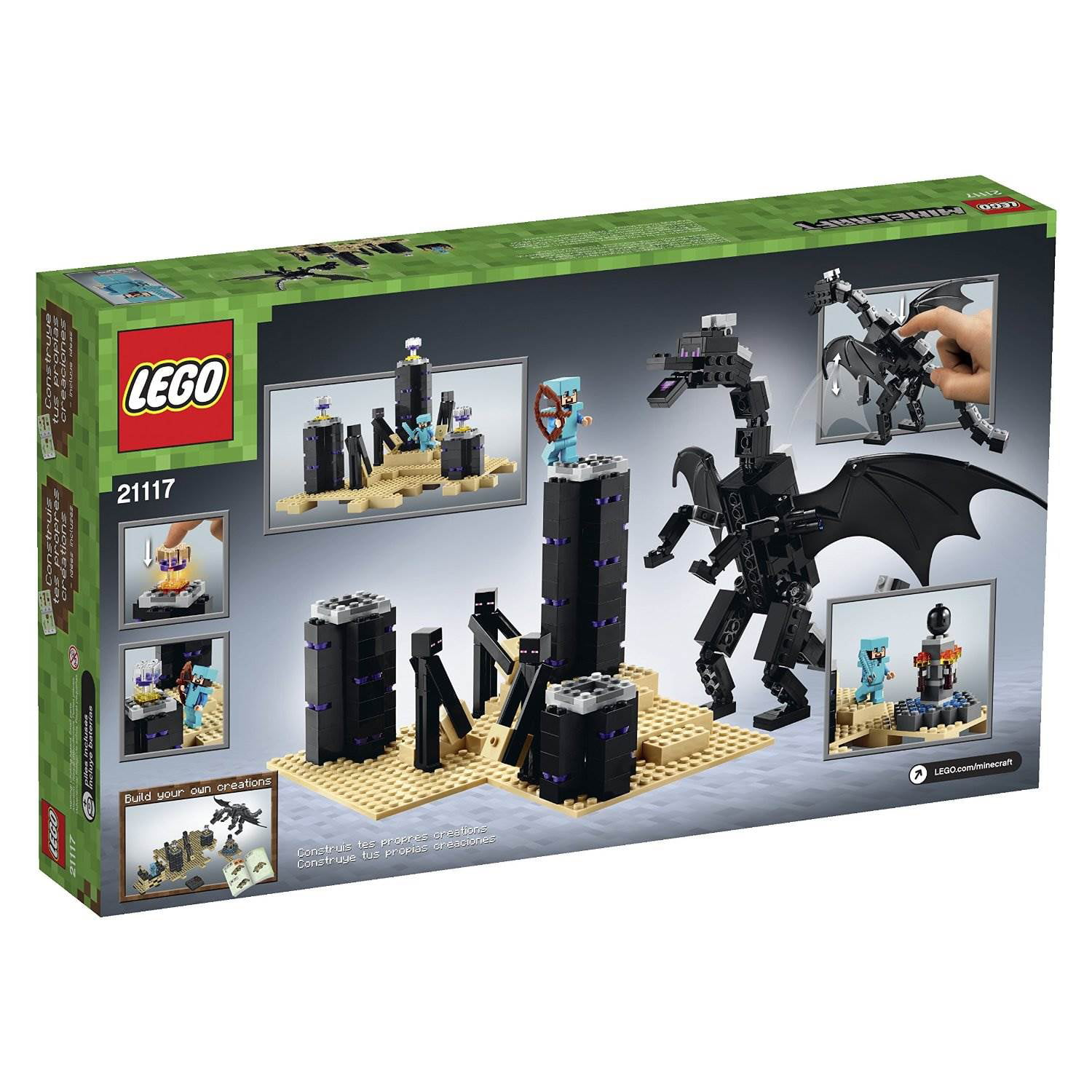Lego Minecraft The Ender Dragon Walmart Com Walmart Com Craft an armor stand called dragon 2. lego minecraft the ender dragon