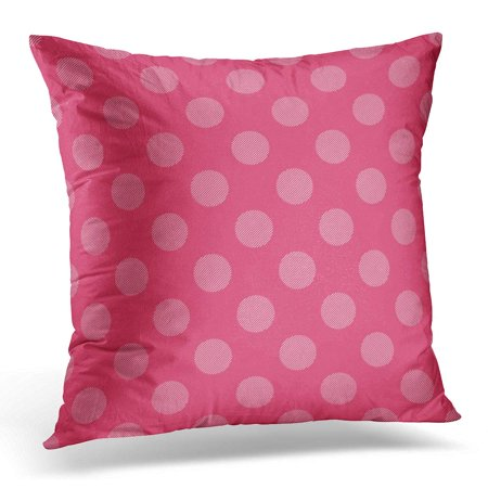 BOSDECO Dots Pattern Geometrical Simple Creative Luxury Gradient Candy Style Summer Sundress Dress Label Emblem Pillowcase Pillow Cover Cushion Case 20x20 inch - image 1 of 1