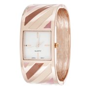Xtreme  FORTUNE NYC Women's Multi-tone Stainless Steel Bangle Watch