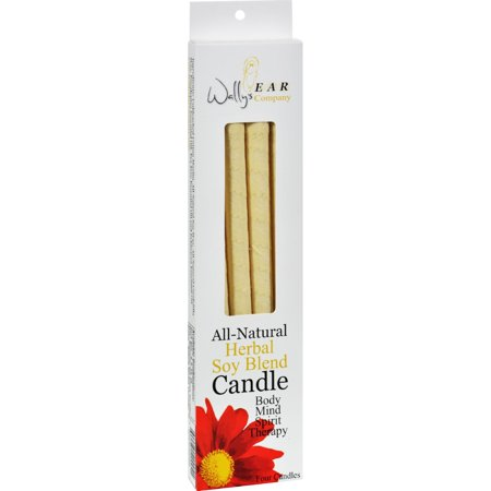 Wally's Natural Products Herbal Paraffin Ear Candle - 4 Pk