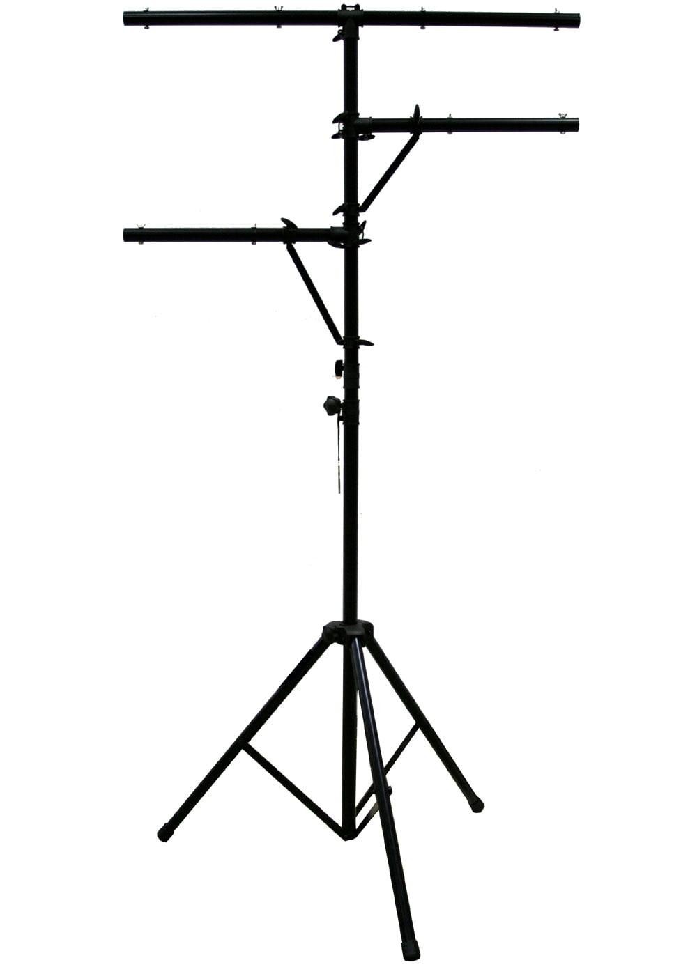 Pro Audio DJ Quad Tree 8 Bolt Lighting Fixture 12 Foot Height Tripod Light Stand by
