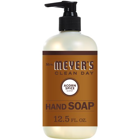 Mrs. Meyers Clean Day Liquid Hand Soap, Acorn Spice Scent, 12.5 ounce bottle