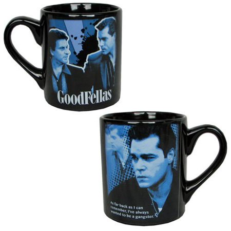 Goodfellas Movie Henry Hill As Far Back as I Can Remember, I've Always Wanted to be a Gangster Ceramic 14 Ounce Coffee