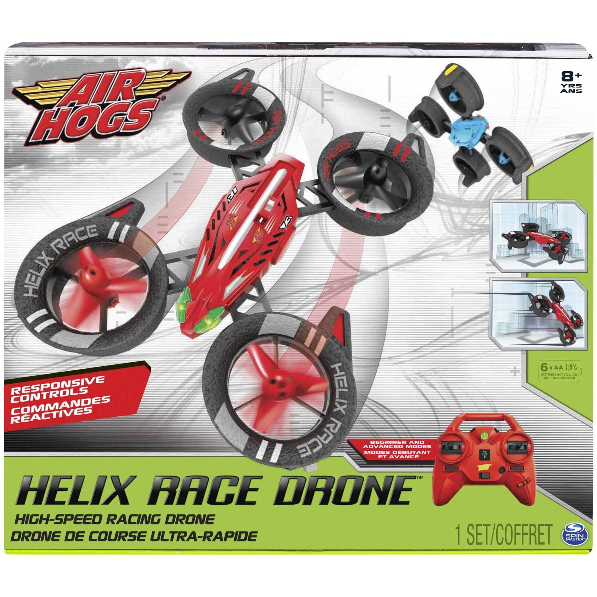 Air Hogs Helix Race Drone, 2.4 GHZ, RC Vehicle Color may vary by Spin Master Ltd