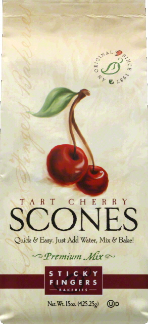 Sticky Fingers Bakeries Scones, Tart Cherry by Sticky Fingers Bakeries