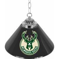 "Trademark Global Milwaukee Bucks NBA 14"" Single Shade Bar Lamp"