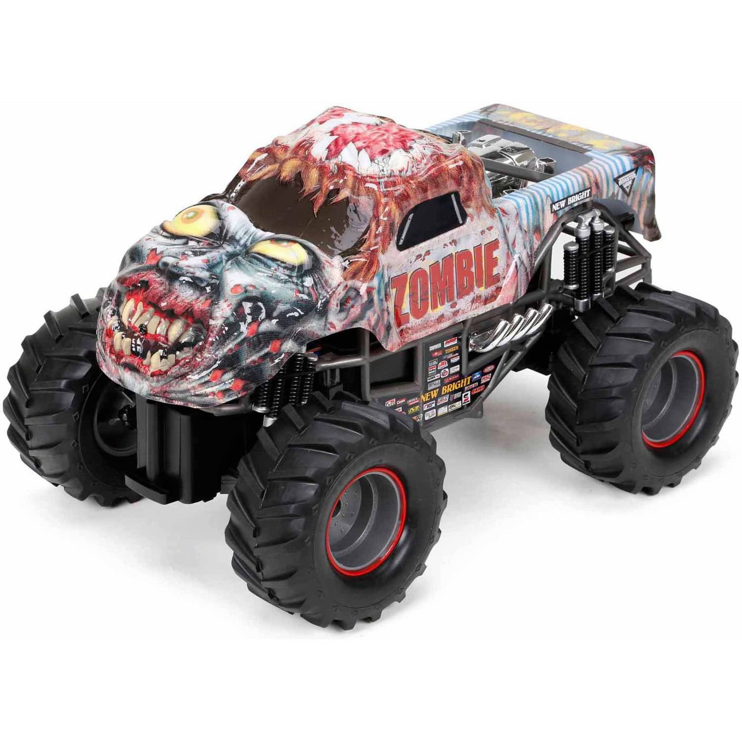 Monster Jam Zombie Full Function Radio-Controlled Vehicle