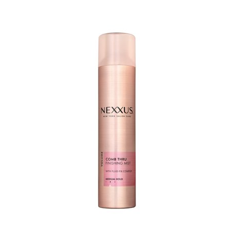 Nexxus Hair Spray for Volume, Comb Thru Finishing Mist, 10 (Best All Natural Hairspray)