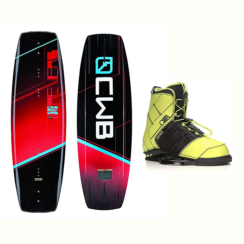 CWB Reverb Wakeboard With LTD Faction Bindings 2017 by CWB