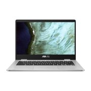"ASUS C423 14"" Celeron 4GB/64GB Chromebook, 14"" HD Nano-Edge Display, Intel Celeron N3350, 4GB DDR4, 64GB eMMC, Chrome OS, C423NA-WB04 (Google Classroom Ready)"