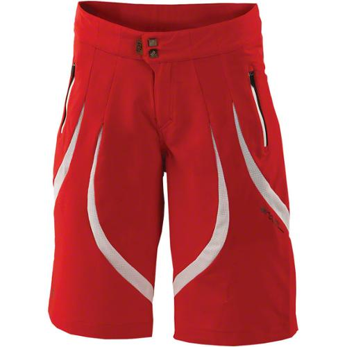 Royal Women's Concept Cycling Short Red/White XL
