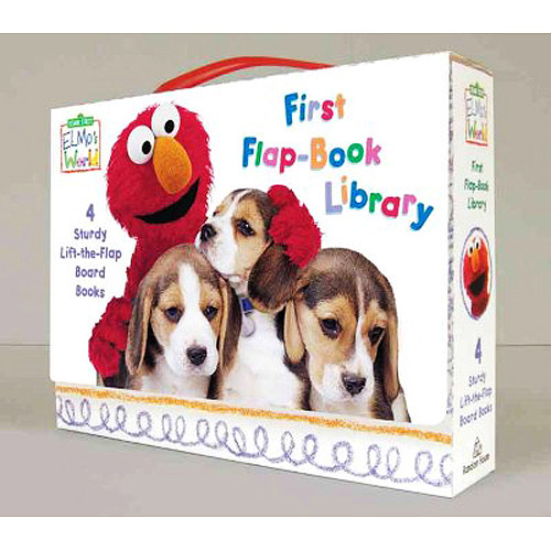 Elmo's World First Flap-Book Library