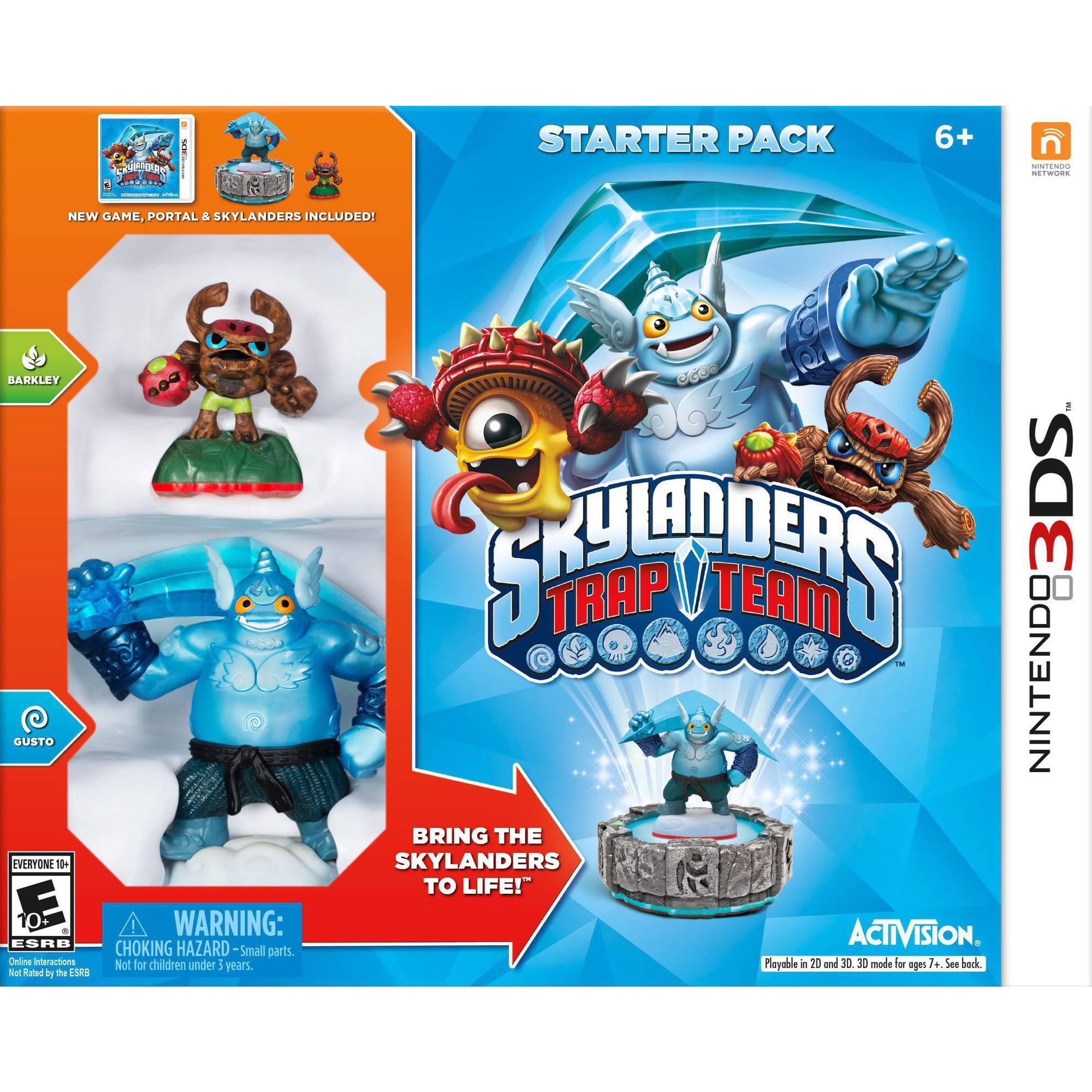 Skylanders Trap Team Starter Kit (Nintendo 3DS)