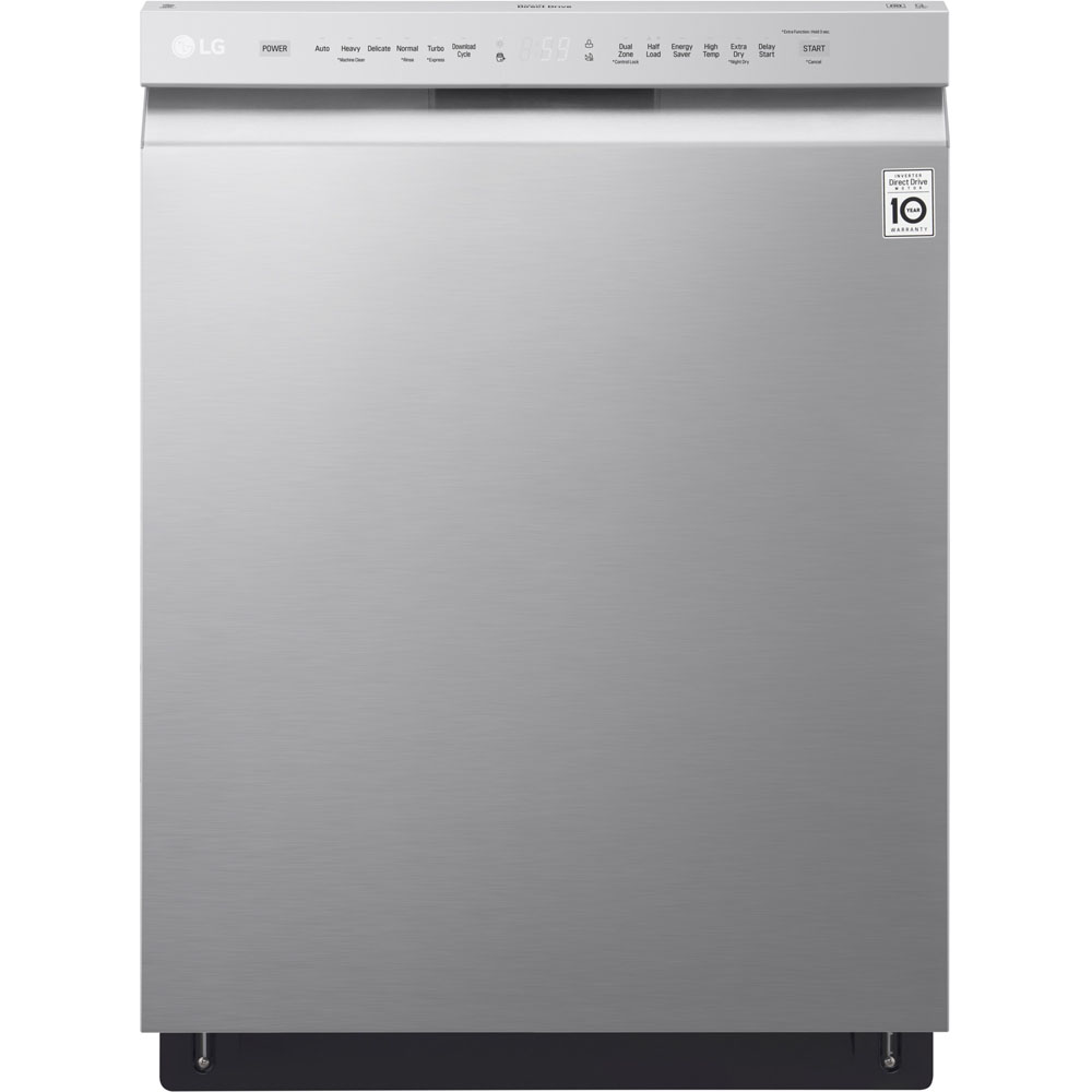 LG LDF5545ST Tall Tub Full Console Built-In Stainless Dishwasher