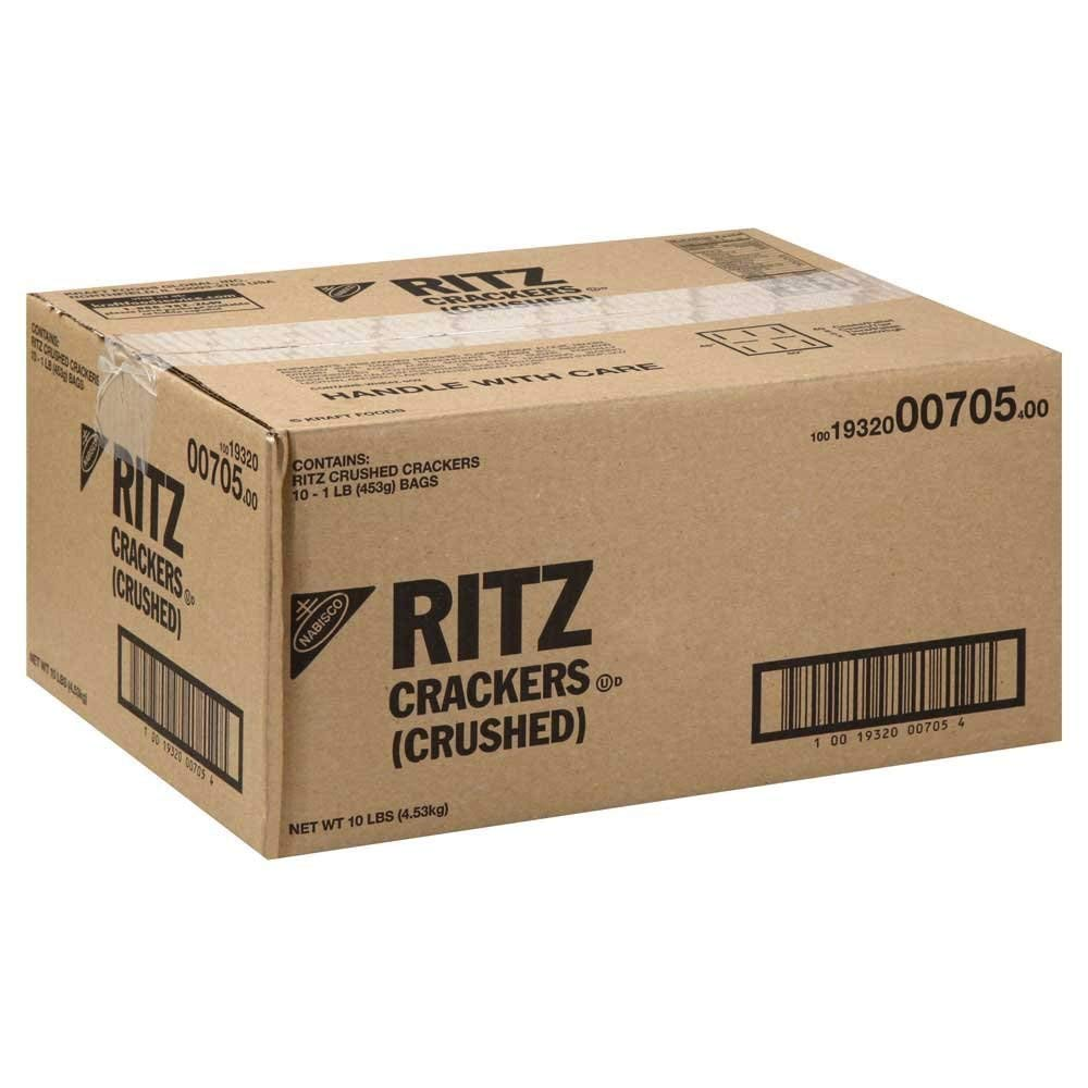 Ritz, Crushed Crackers, 1 lbs. (10 Count)