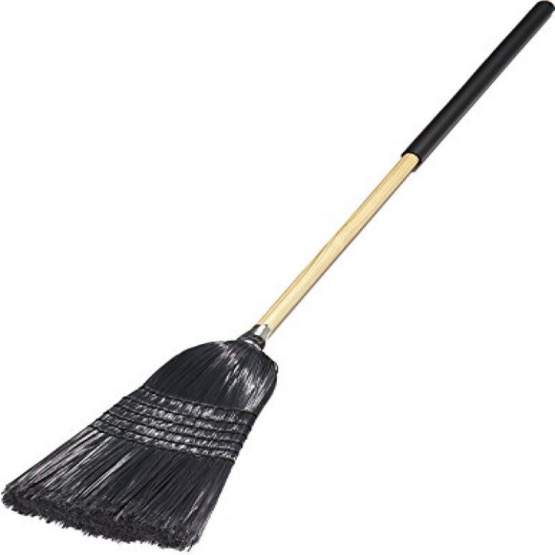 Carlisle 4167903 Flo-Pac Synthetic Corn Warehouse Janitor Broom with Wood Handle,... by