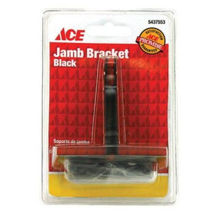 Black Jamb Bracket Ace Shelf Bracket 01-3899-239 (Ace Hardware Shelves)