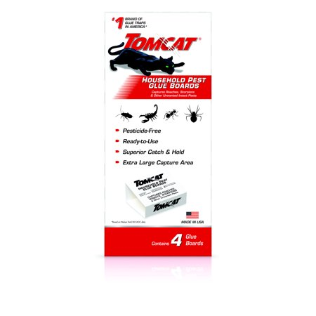 Tomcat Household Pest Glue Trap 4 pack ()