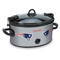 Crock-Pot 6 Quart NFL New England Patriots Slow Cooker