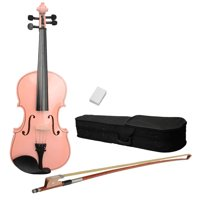 Ktaxon 16 inch Acoustic Viola with Case, Bow, Rosin for Beginners Viola Starter Kit 7 Colors