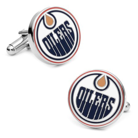 Mens Nickel Plated NHL Edmonton Oilers PD-EDM-SL NEW