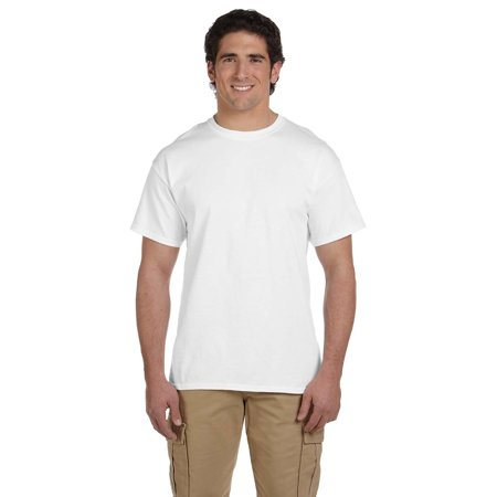 Gildan G200 Ultra Cotton Men's T-Shirt -White-5X-Large
