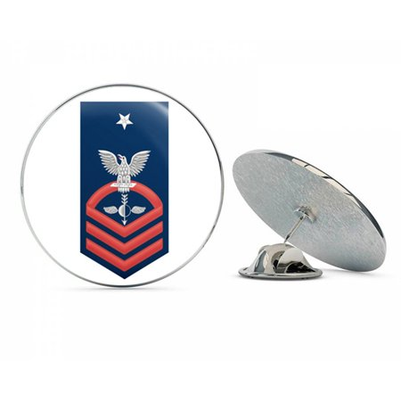US Navy Senior Chief Red E-8 Aerographers Mate AG  Military Veteran USA Pride Served Gift Metal 0.75