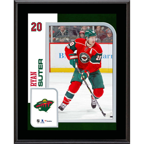 "Ryan Suter Minnesota Wild 10.5"" x 13"" Sublimated Player Plaque - No Size"