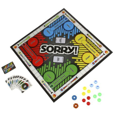 Sorry A5065 Sorry Board Game, By Hasbro by