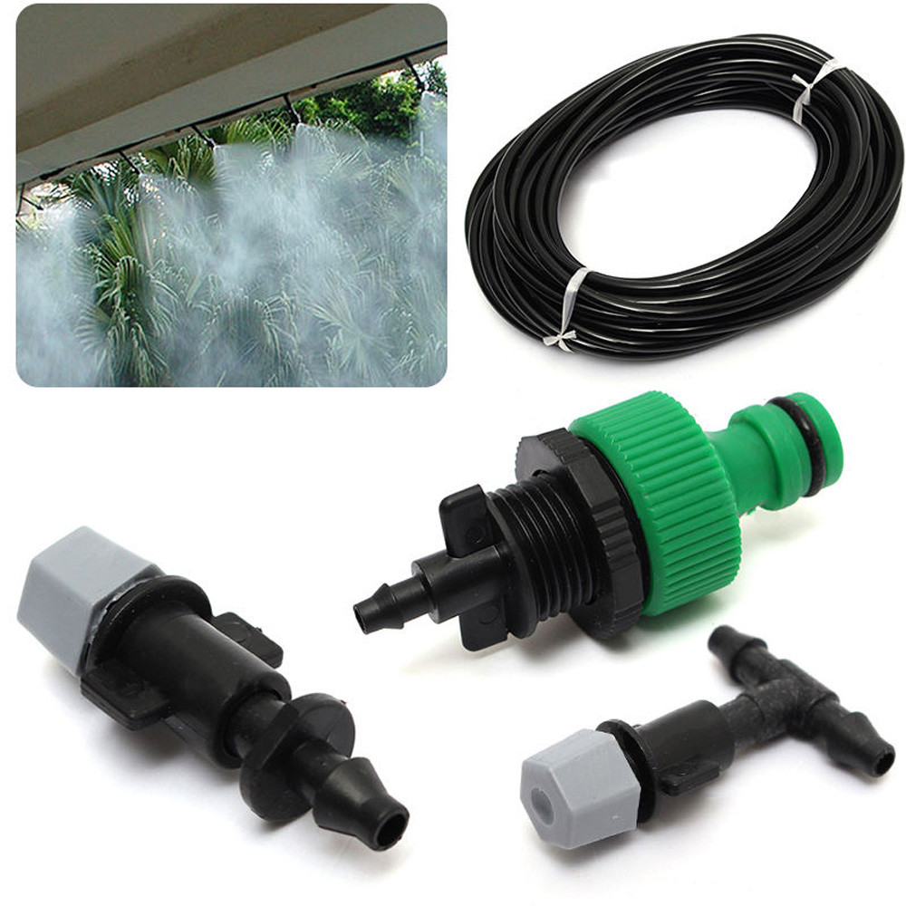 Voberry Spray Nozzle Sprinkler Head Nebula Irrigation System Sprinkler + 10pc Nozzle
