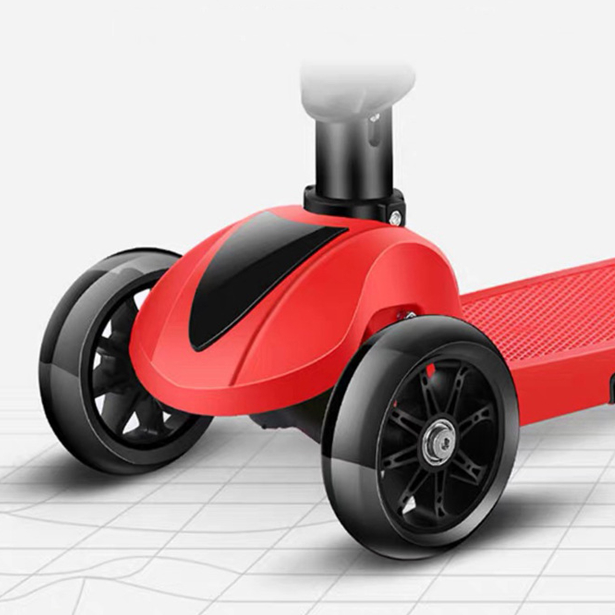 Details about  /Kids 4-in-1 Scooter with Removable Seat LED Wheel Flashing 3 Wheels for E t g 02