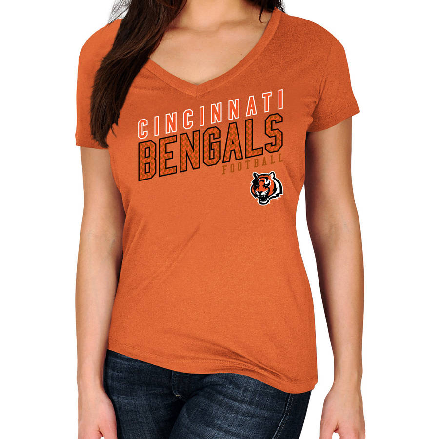 NFL Cincinnati Bengals Plus Size Women's Basic Tee