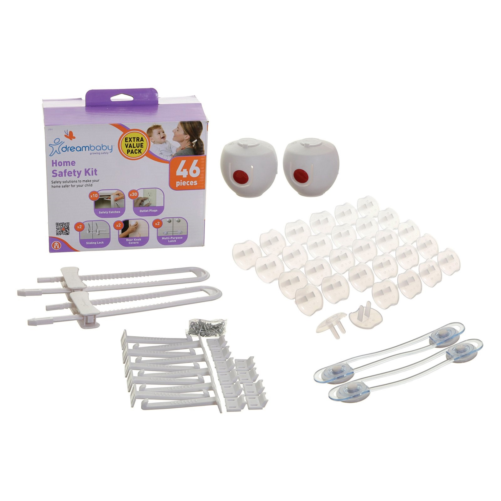 Dreambaby Home Safety Value Kit 46 Piece