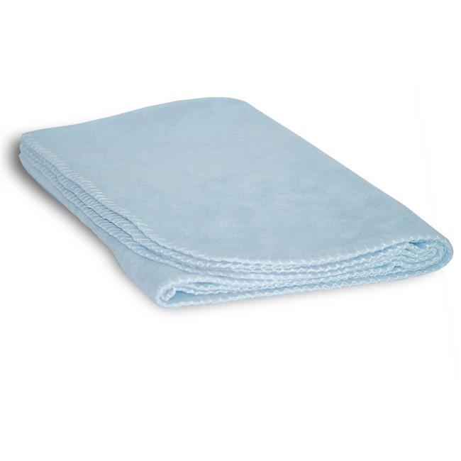 DDI 1853334 30 x 40 in. Fleece Baby-Lap Blanket, Light Bl...