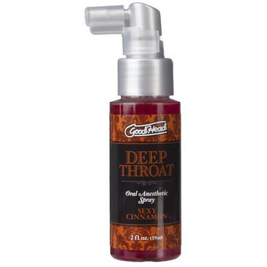 Throat Spray - GoodHead Deep Throat Spray - Sexy Cinnamon