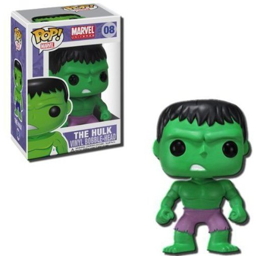 Funko Pop! Marvel The Hulk Vinyl Bobble Head