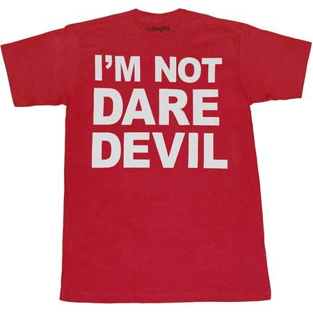 Marvel I'm Not Daredevil T-Shirt](Daredevil T Shirt)