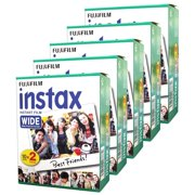 FujiFilm Instax Wide Instant Film TwinPack 5 PK (100 Pictures)