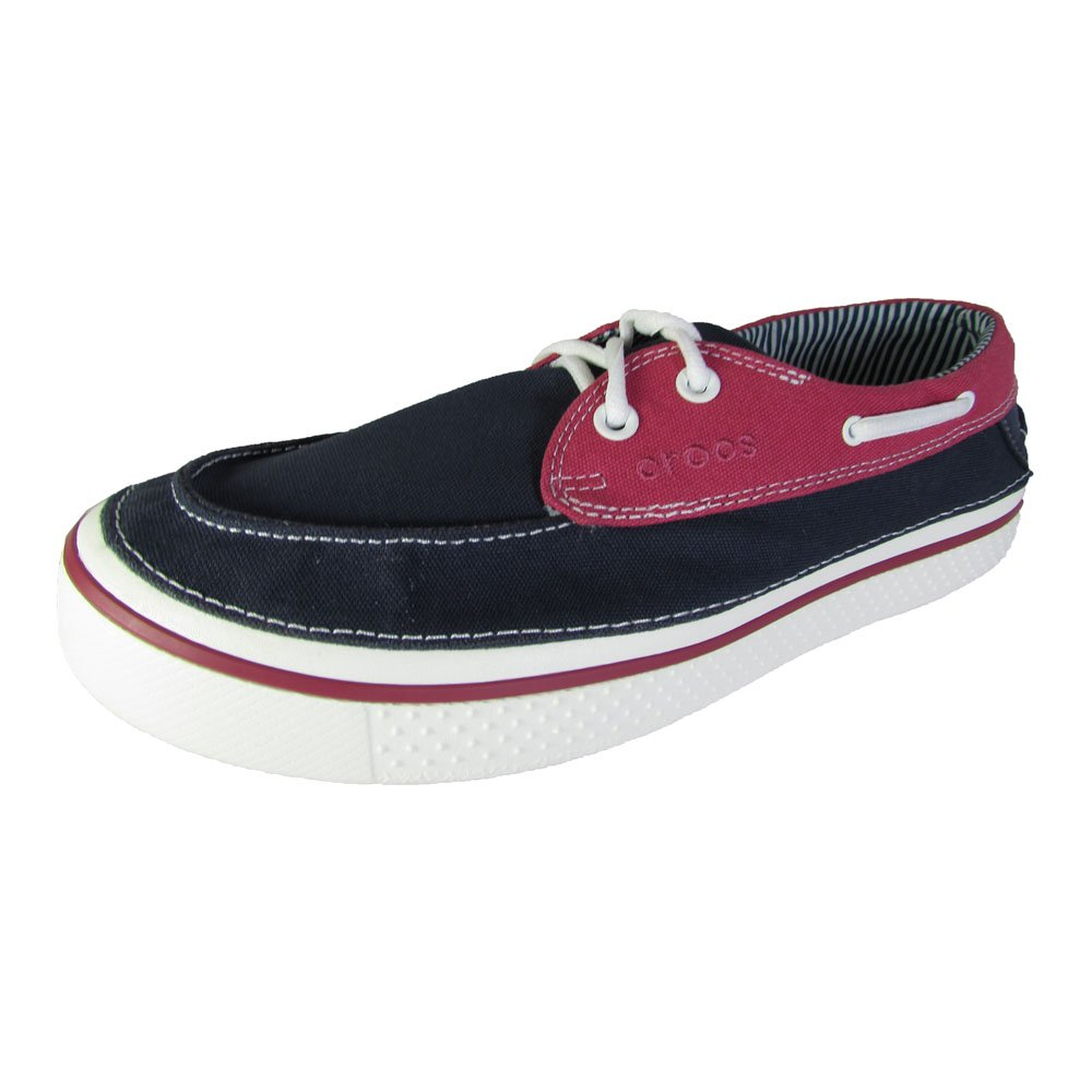 c45da596ae83 Buy Crocs Mens Hover Boat Slip On Canvas Shoes