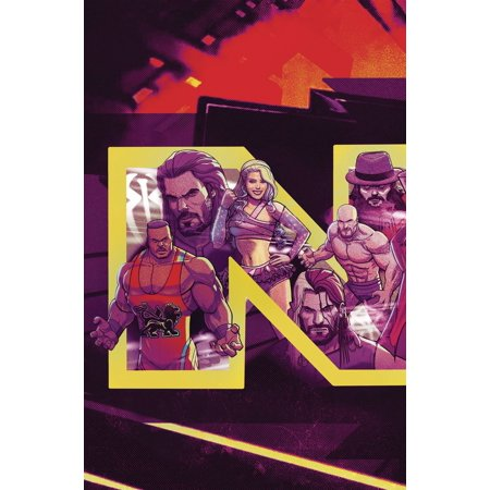Boom Studios WWE NXT Takeover #1 Blueprint [Dalfanso Variant Cover]